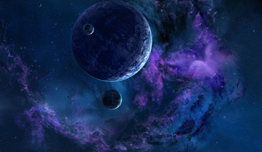 Outer space stars planets nebulae HD wallpaper