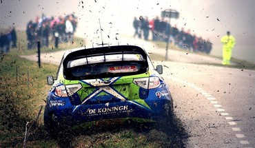 Cars rally HD wallpaper
