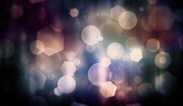 Abstract bokeh nature HD wallpaper