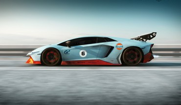 Cars lamborghini gulf HD wallpaper