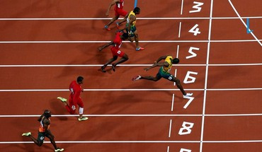 Athletics usain bolt olympics 2012 HD wallpaper