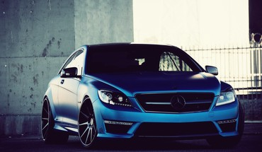 Mercedes C63 AMG  HD wallpaper