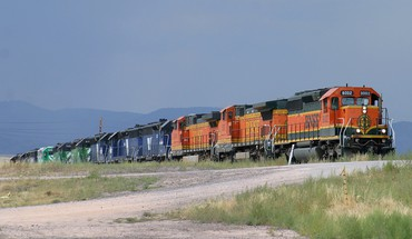 Trains locomotives bnsf widescreen HD wallpaper