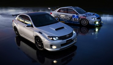 Cars subaru impreza wrx sti s206 bbs HD wallpaper