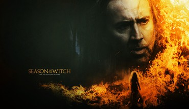 Fire nicholas cage season of the witch HD wallpaper