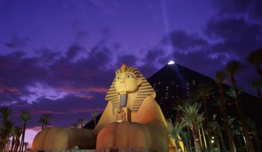 Las vegas nevada casino dusk hotels luxor HD wallpaper