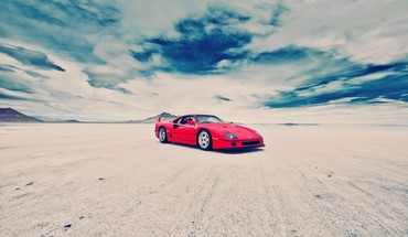 Automobiliai transporto Ferrari F40  HD wallpaper