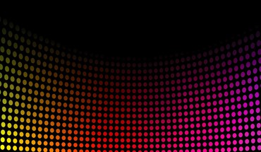 Music spectrum disco dots colors HD wallpaper