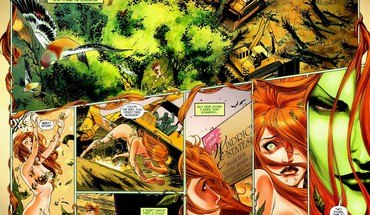 DC Comics poison ivy  HD wallpaper