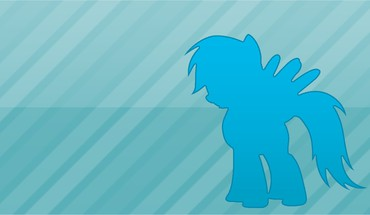 My little pony rainbow dash simple HD wallpaper