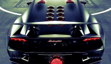 Lamborghini juodas tuning  HD wallpaper