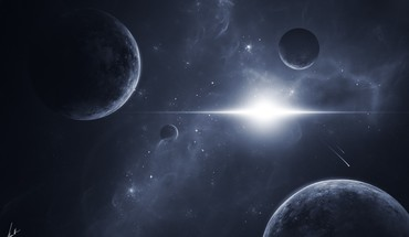 univers Glowing  HD wallpaper