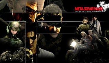 Video games metal gear solid xmb mgs4 HD wallpaper