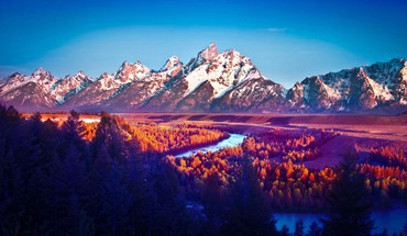 Mod national park teton HD wallpaper