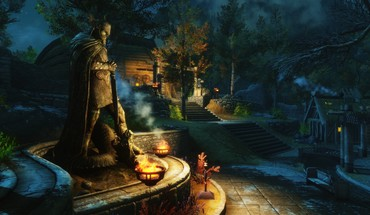 The elder scrolls v: skyrim whiterun HD wallpaper
