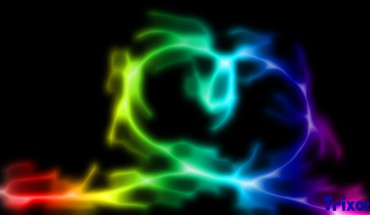 Light love black smoke hearts background colors many HD wallpaper