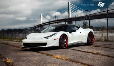 Ice cars blade ferrari 458 italia auto super HD wallpaper