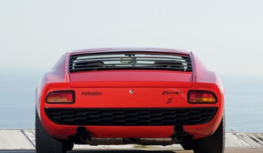 voitures de Lamborghini Miura P400  HD wallpaper