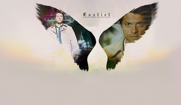 Angels supernatural castiel tv series HD wallpaper