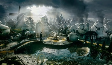 Windmills kettle oz: the great and powerful HD wallpaper