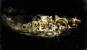 Abstract artwork typography HD wallpaper