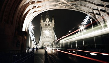 Tower bridge city night  HD wallpaper