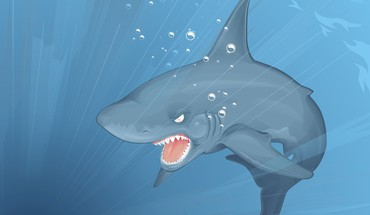 Nature sharks artwork HD wallpaper