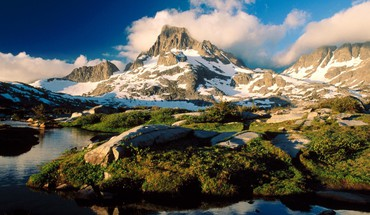 Lake ansel adams in california wilderness HD wallpaper