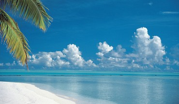 Cook islands beaches tropical HD wallpaper