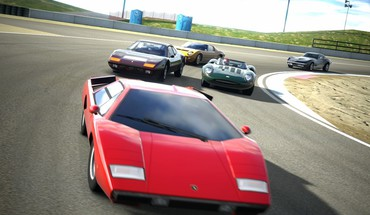 Gran turismo 5 laguna seca playstation cars races HD wallpaper