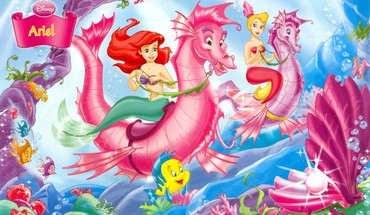 Prinzessin Ariel  HD wallpaper