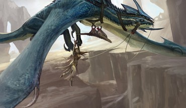 Magic the gathering drake artwork HD wallpaper
