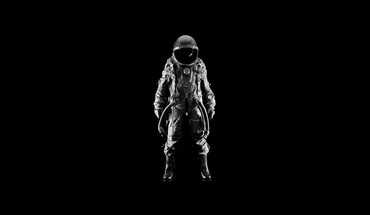 Men suit helmets simple background black astronaut HD wallpaper