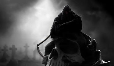 Dark grim reaper HD wallpaper
