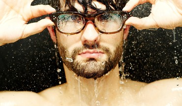 Closeup faces glasses men with HD wallpaper