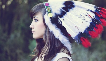 Marta Kopfschmuck Native Americans Kultur Aragona © s  HD wallpaper