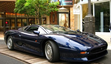 Cars jaguar vehicles xj220 HD wallpaper