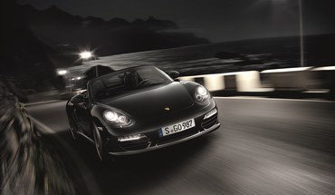 Porsche front black edition boxster s HD wallpaper