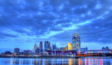Schöne Nashvilles Tennessee Riverfront hdr  HD wallpaper