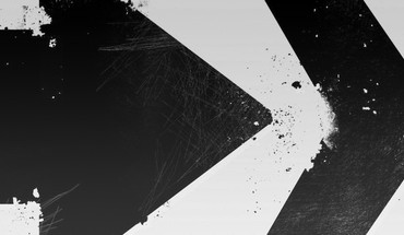 Abstract arrows black directions paint HD wallpaper