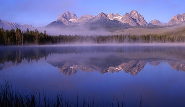 Little idaho morning lakes HD wallpaper