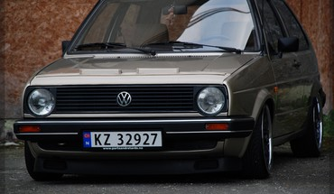 Golf volkswagen ii mk2 nikon d80 HD wallpaper