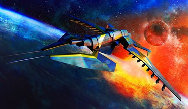 Spitfire astronomy outer space science fiction spacescape HD wallpaper