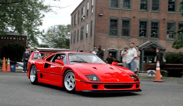 F40 فيراري  HD wallpaper