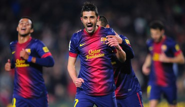 David villa barcelona 2013 HD wallpaper