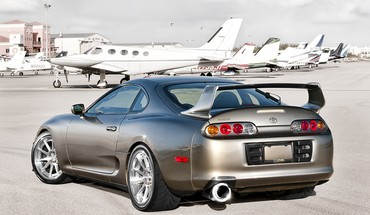 Cars toyota supra HD wallpaper