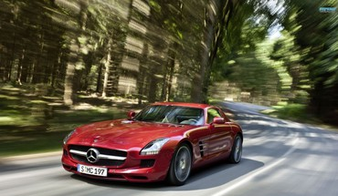 AMG MERCEDESBENZ SLS ecell  HD wallpaper