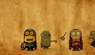 Minion Avenger  HD wallpaper