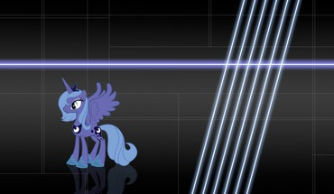 My little pony princess luna backgrounds unicorns HD wallpaper