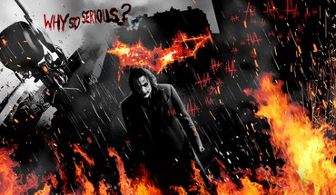 Joker batman dark knight why so serious? HD wallpaper